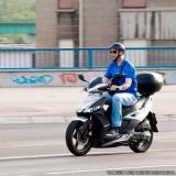 entregador de moto Cerqueira César