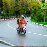 entregador de moto