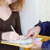 serviço de entrega de documentos e formulários Cidade Tiradentes