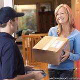 valor de entrega de encomendas online Alto da Lapa